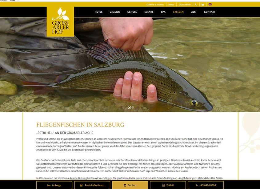 Grossarlerhof Fliegenfischen