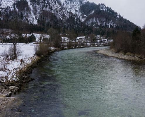 Ischler Ache Fliegenfischen Austria Guiding